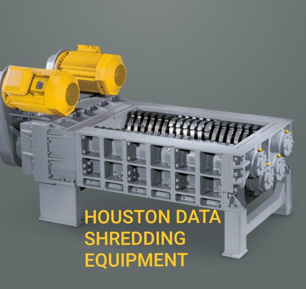 Houston Data Shredding Equipment